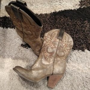 Very Volatile studded cowboy boots